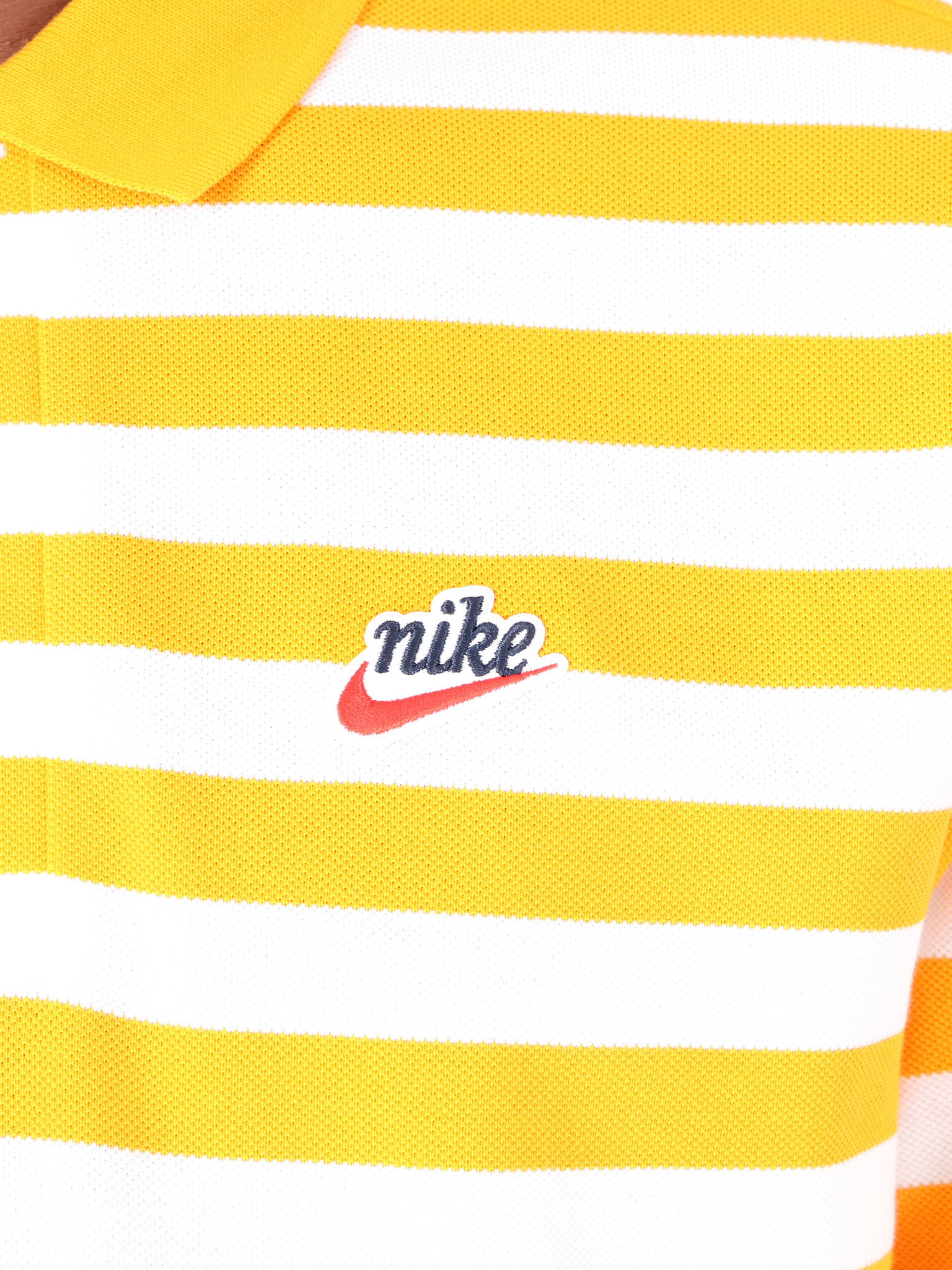 Nike Nike Script Polo Orange Peel BQ9074-833