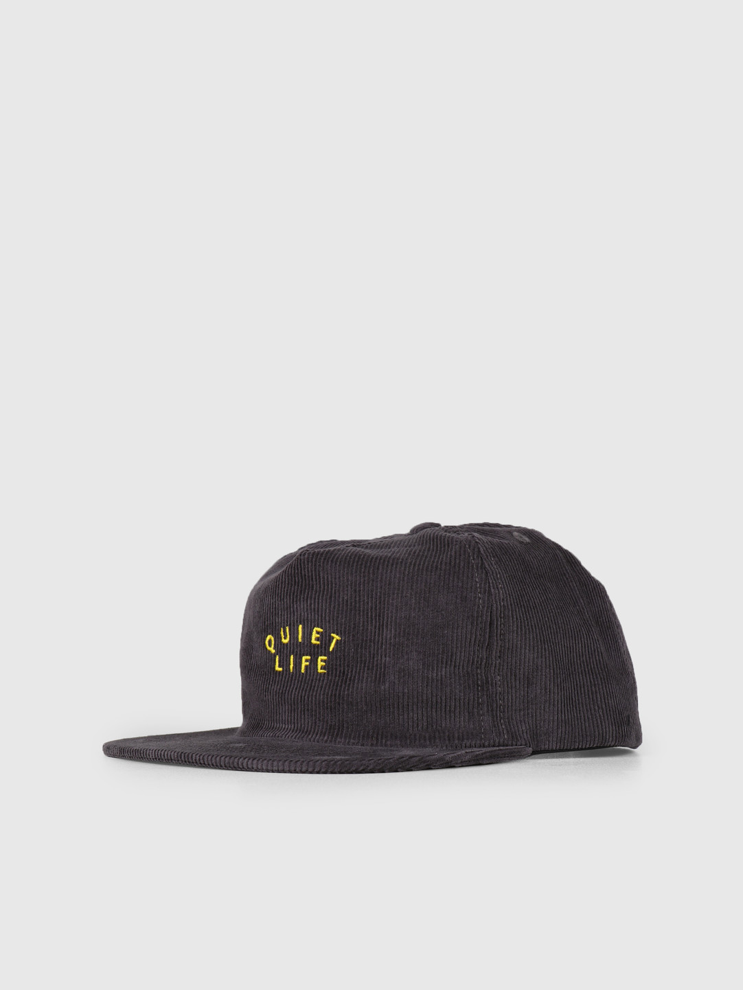 The Quiet Life The Quiet Life Standard Relaxed Snapback - USA Charcoal 19SPD1-1227-CHAR-OS