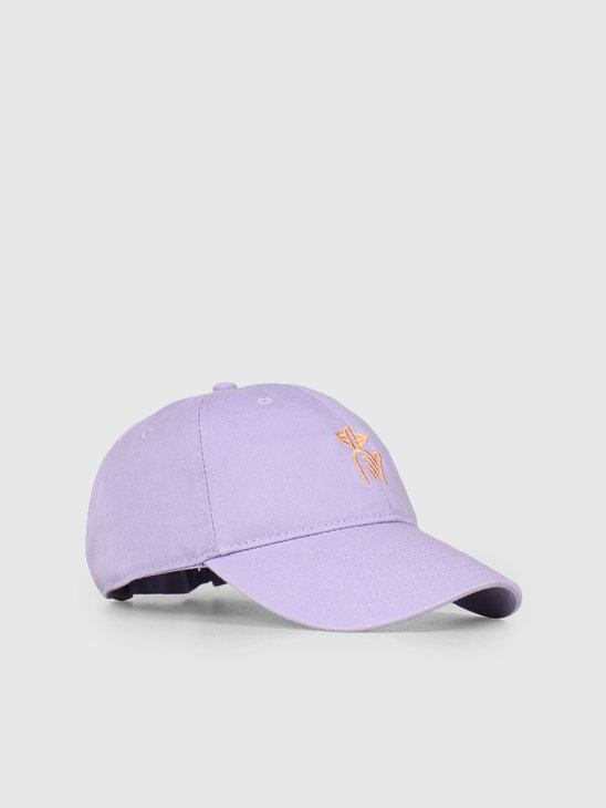 The Quiet Life Shhh Dad Hat Purple 19SPD1-1233-PUR-OS