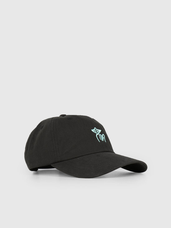 1bcc317c226 The Quiet Life Shhh Dad Hat Black 19SPD1-1235-BLK-OS - FRESHCOTTON