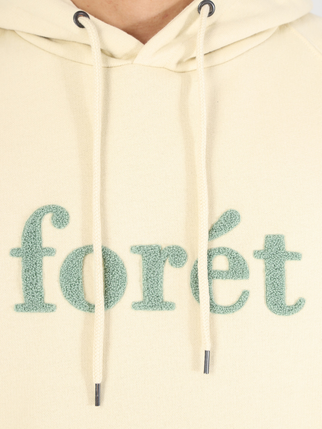 Foret Foret Maple Hoodie Cream F170