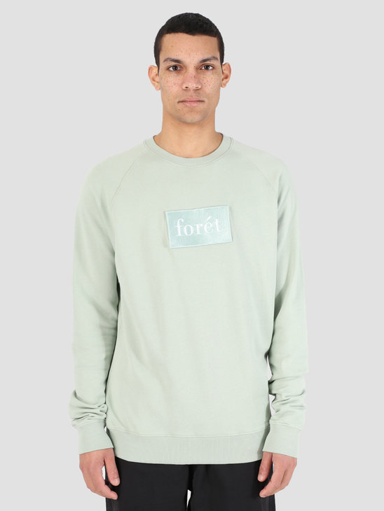 Foret Float Sweatshirt Sage Green F101