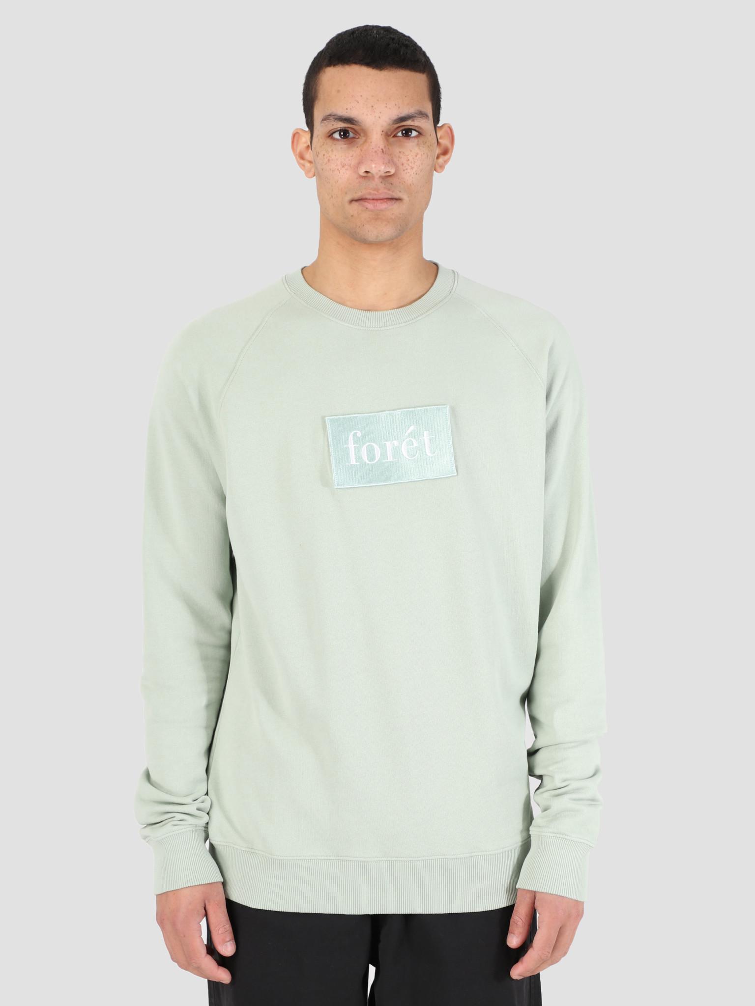 Foret Foret Float Sweatshirt Sage Green F101