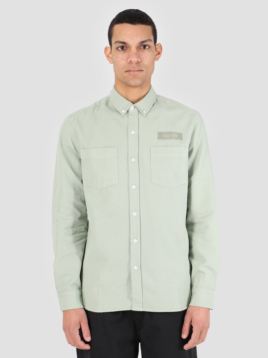 Foret Bear Shirt Sage Green F037