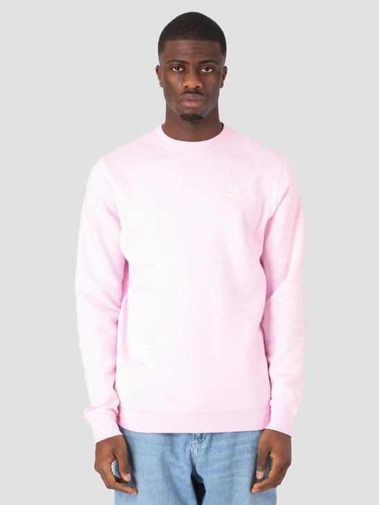 Nike Sportswear Crew Pink Foam White 804340-663