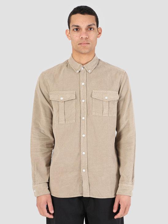 Foret Frog Shirt Khaki F116