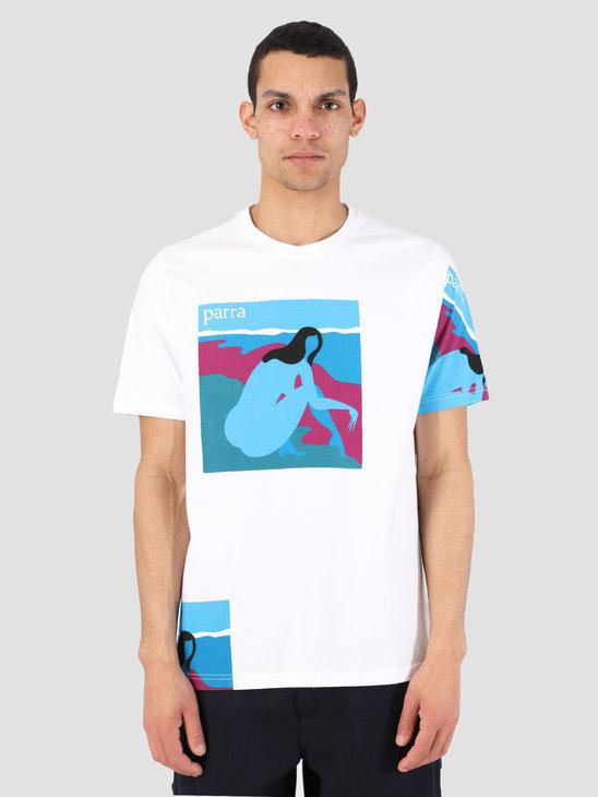 By Parra T-Shirt No Beach White 42370