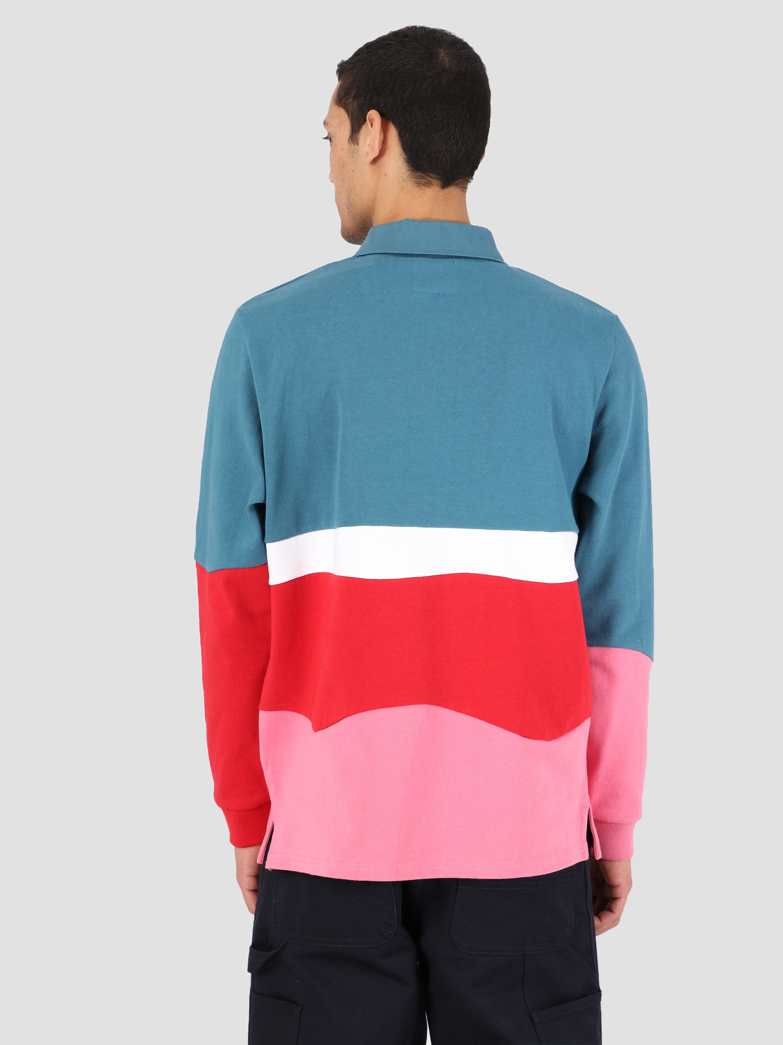 By Parra By Parra Rugby Shirt Meadows Multi 42400