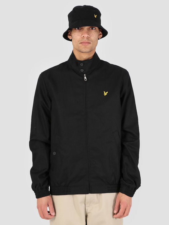 Lyle and Scott Harrington Jacket 572 True Black JK462V