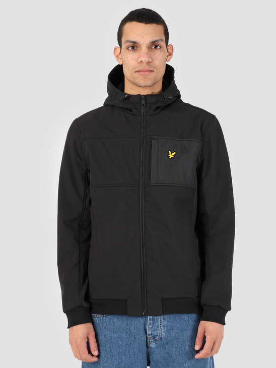 Lyle and Scott Softshell Jacket 572 True Black JK1007V