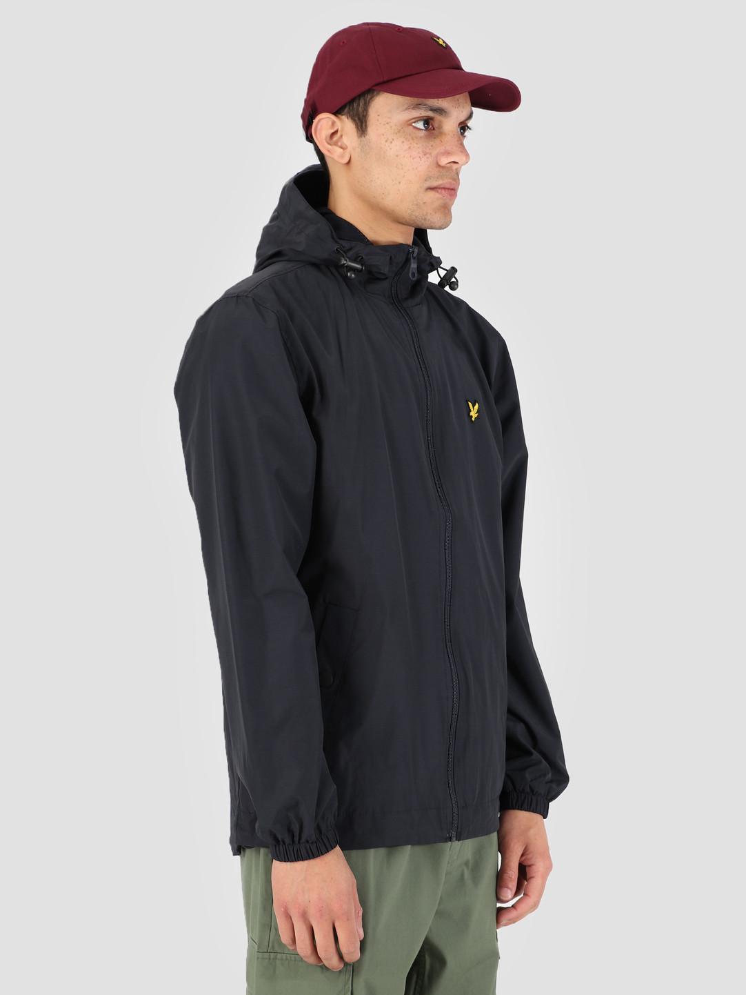 Lyle and Scott Lyle and Scott Zip Through Hooded Jacket Z271 Dark Navy JK464V