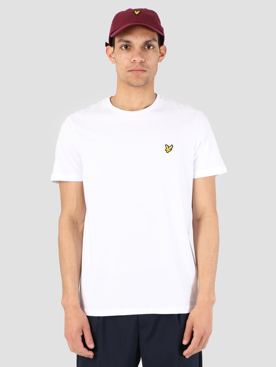 Lyle and Scott Crew Neck T-Shirt White TS400V