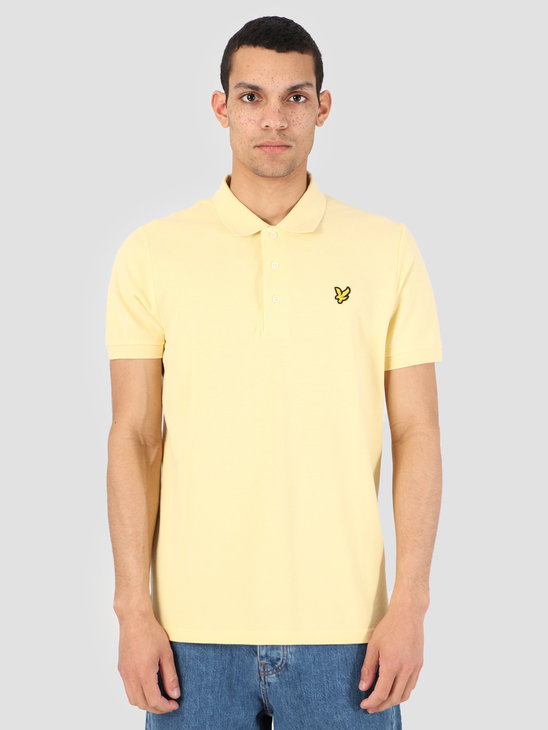 Lyle and Scott Polo Shirt Z458 Vanilla Cream SP400VB
