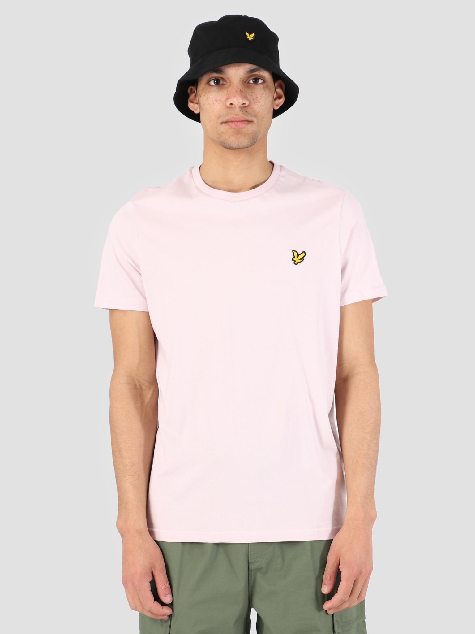 Lyle and Scott Lyle and Scott T-Shirt Z460 Dusky Lilac TS400V