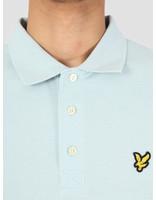 Lyle and Scott Lyle and Scott Longsleeve Polo Shirt Z464 Blue Shore LP400VB