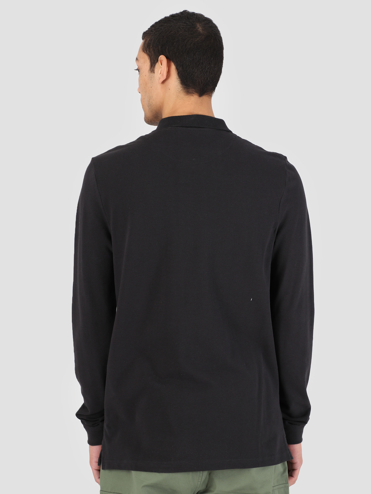 Lyle and Scott Lyle and Scott Longsleeve Polo True Black LP400VB