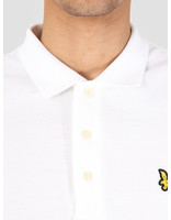 Lyle and Scott Lyle and Scott Longsleeve Polo White LP400VB