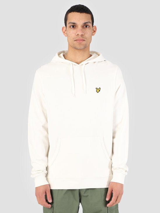 Lyle and Scott Pullover Hoodie Z455 Snow White ML416VTR