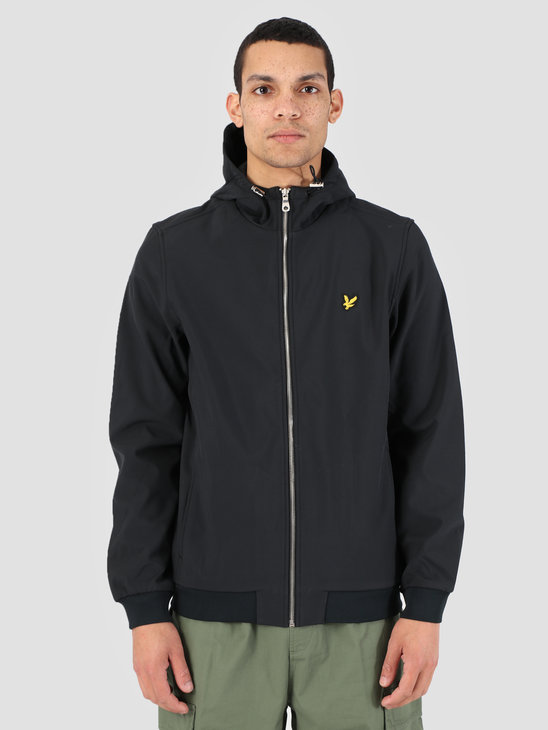 Lyle and Scott Softshell Jacket True Black JK903V