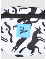 By Parra By Parra Waist Pack Workout Woman Horse White 42450