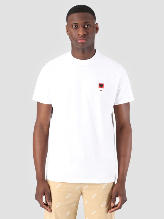 Arte Antwerp Troy Heart Patch White T-Shirt 3757093