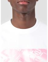 Arte Antwerp Arte Antwerp Trey Photo White Pink T-Shirt 3757995
