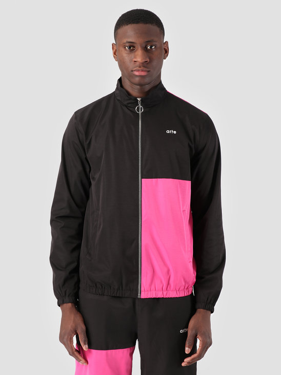 Arte Antwerp James Jacket Black Pink 3757036