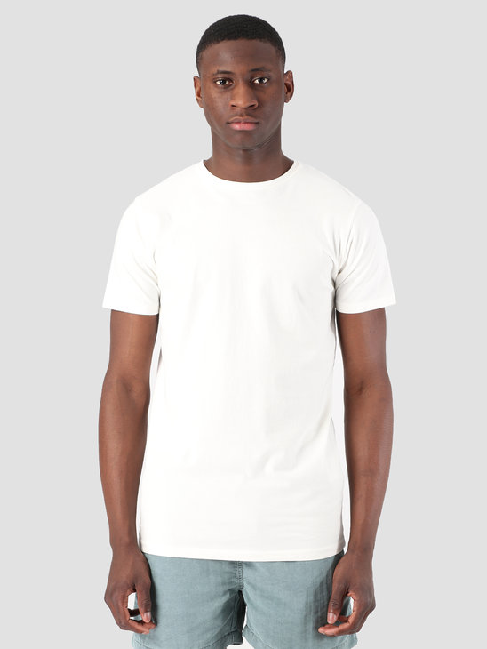 Kronstadt Hey Ho Basic T-Shirt Off White KS2455