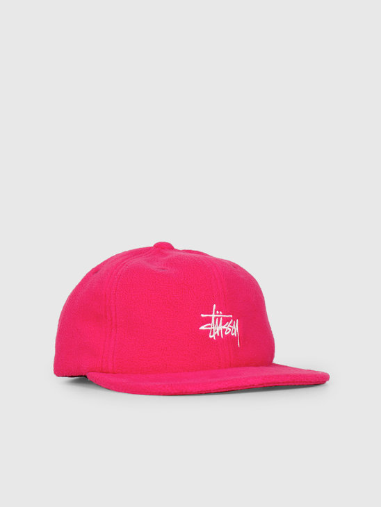 Stussy Smooth Stock Polar Flc Strpbk Berry 0623