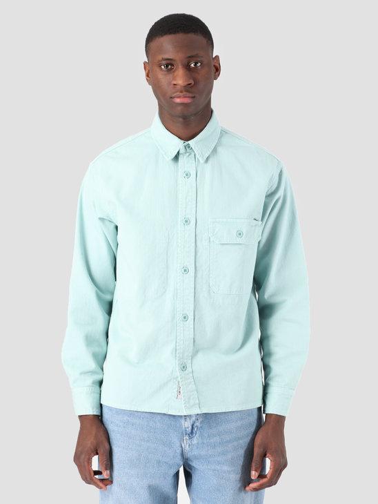 Carhartt WIP Longsleeve Reno Shirt Soft Aloe I026532