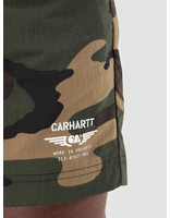 Carhartt WIP Carhartt WIP Ca Wingwim Trunk Camo Laurel White I026238