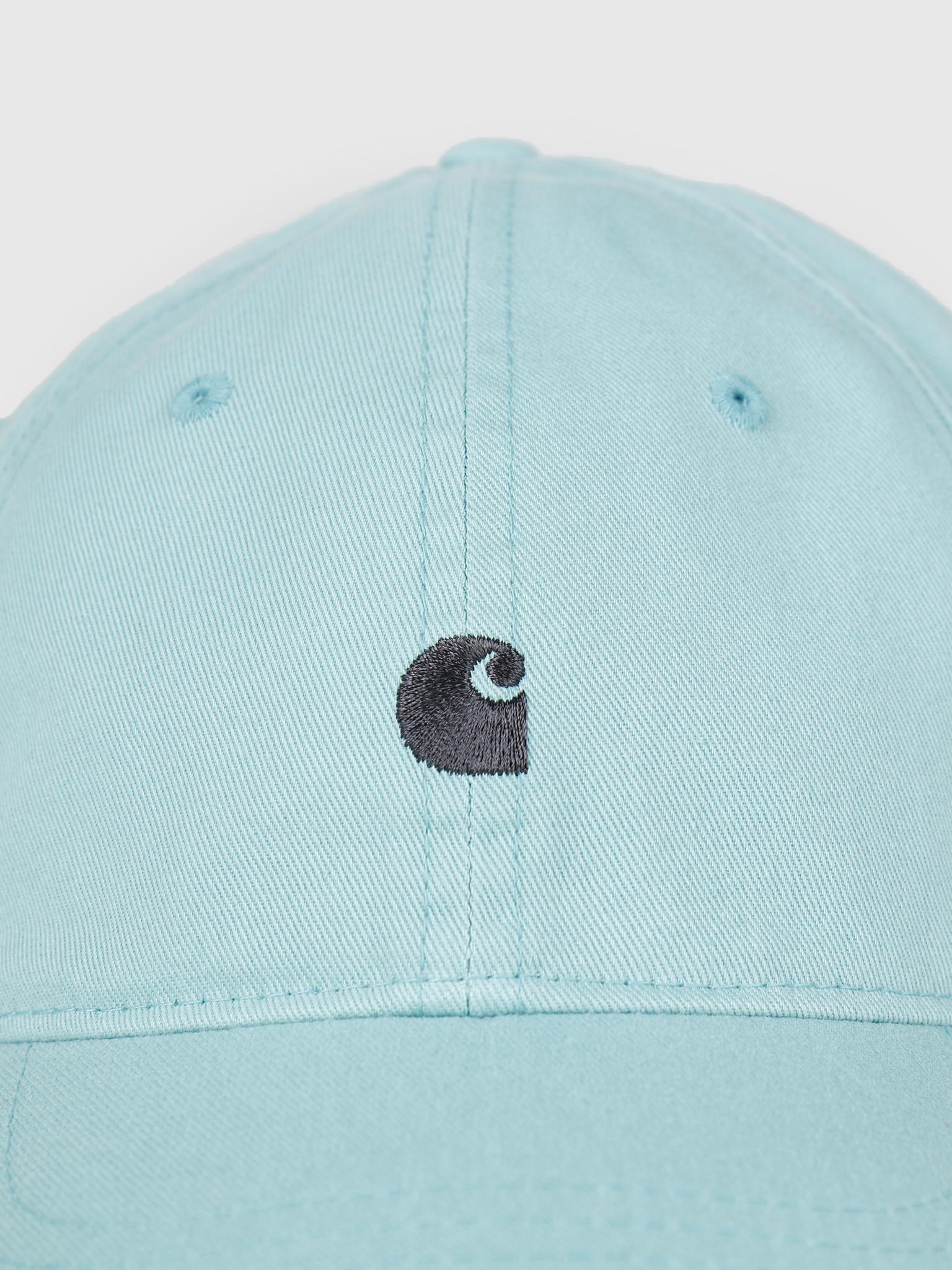 Carhartt WIP Carhartt WIP Madison Logo Cap Soft Aloe Dark Navy 65050030