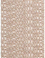 Carhartt WIP Carhartt WIP Typo Tote Small Typo Print Ecru Hamilton Brown 42029298
