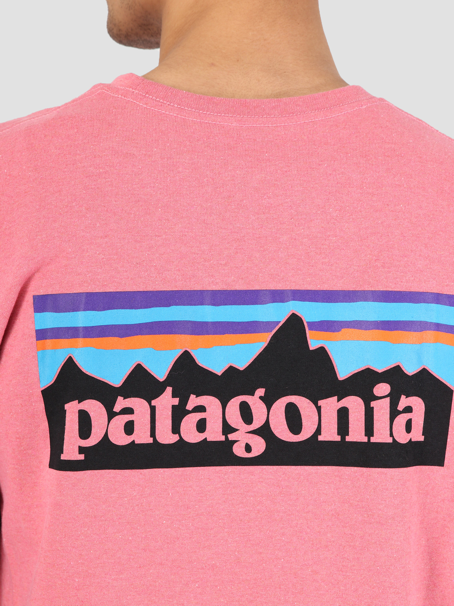 Patagonia Patagonia Longsleeve P 6 Logo Responsibili T-Shirt Sticker Pink 39161