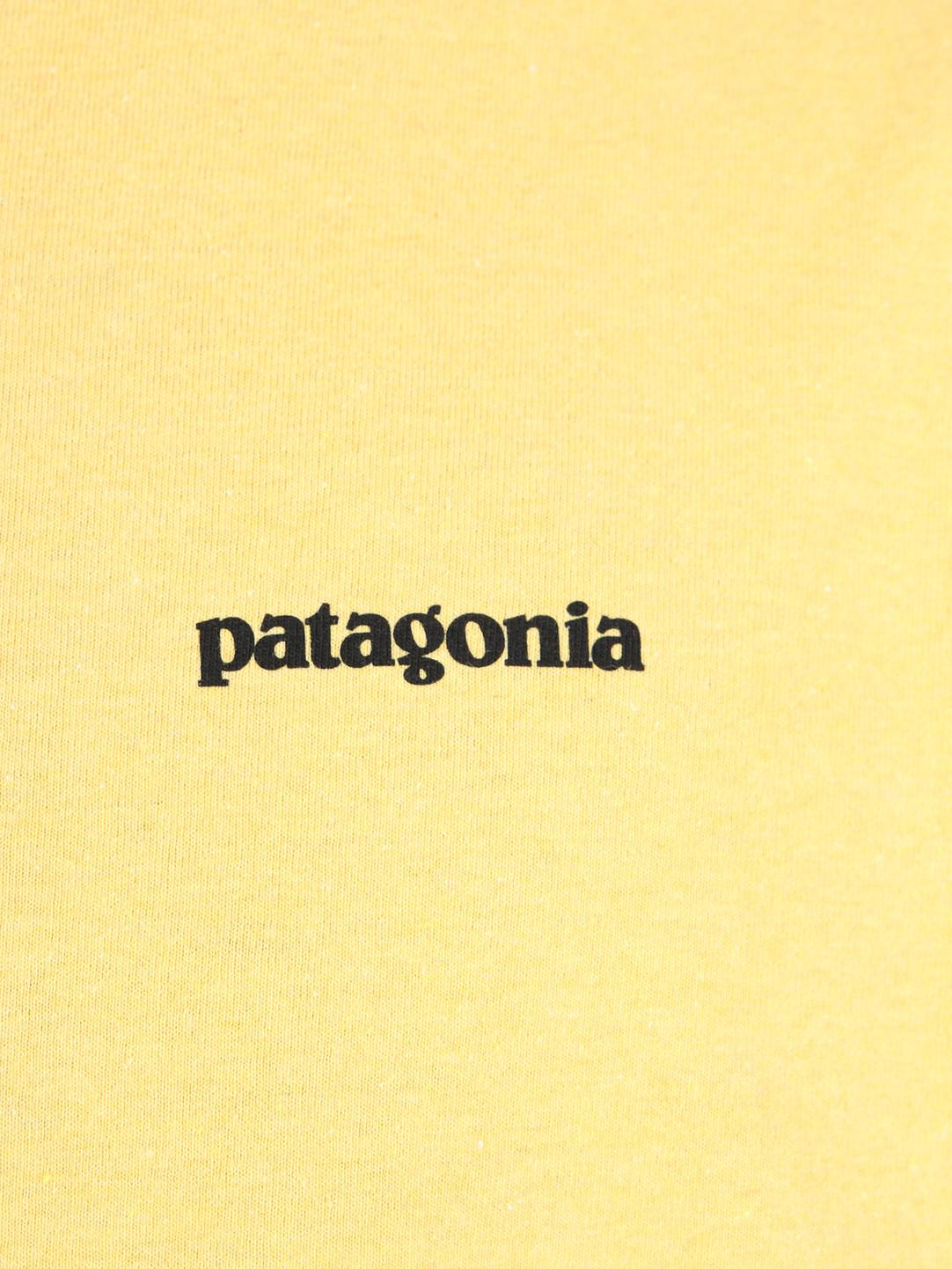 Patagonia Patagonia P 6 Logo Responsibili T-Shirt Surfboard Yellow 39174