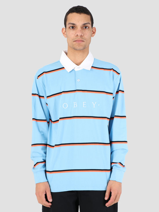 Obey Washer Claic Polo Longsleeve LBL 131040017