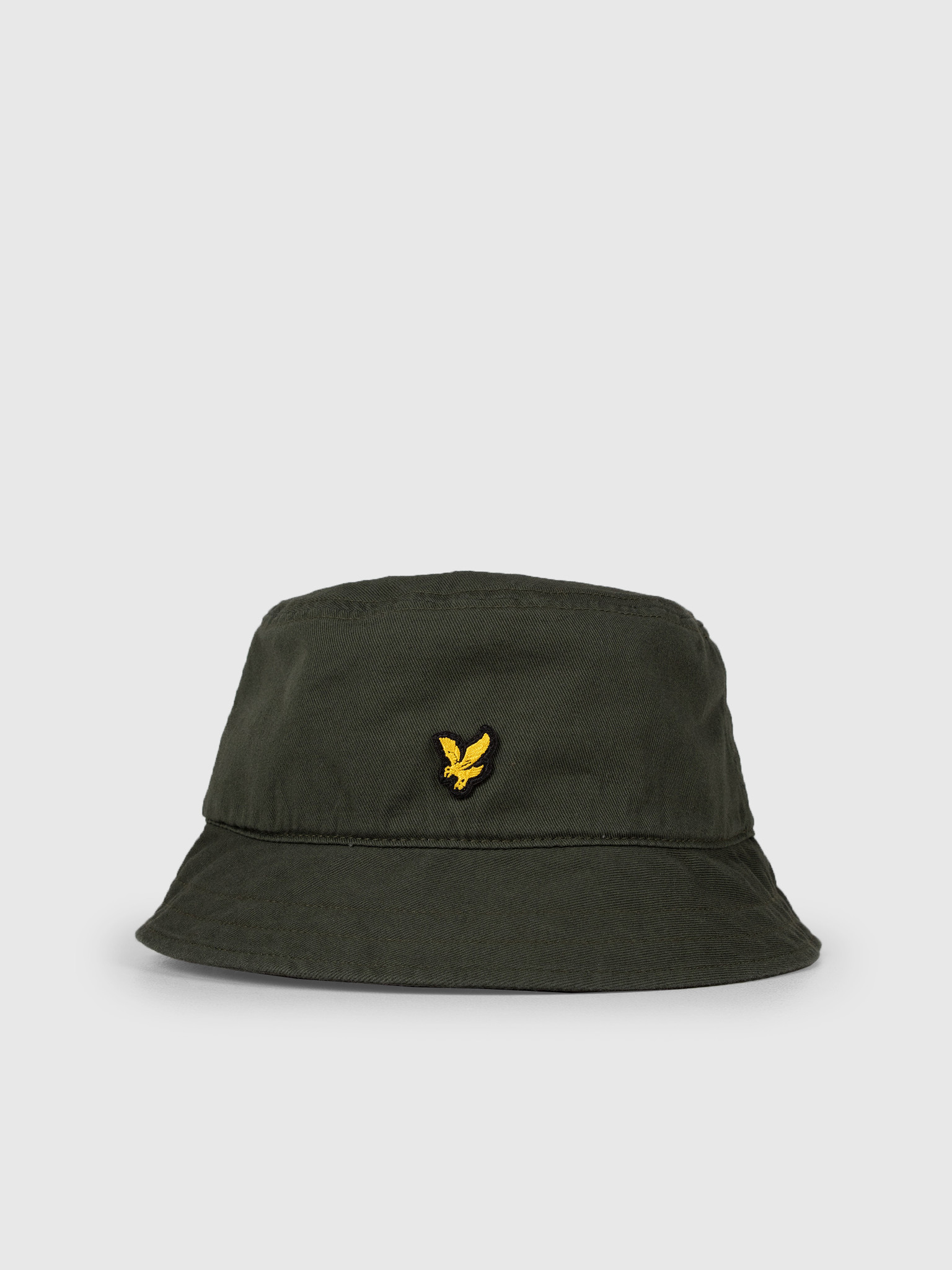 b629fc14695 Lyle and Scott Lyle and Scott Cotton Twill Bucket Hat Z262 Leaf Green HE800A