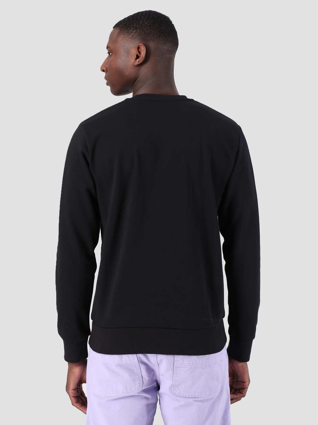 Carhartt WIP Carhartt WIP Script Embroidery Sweat Black White 61102099