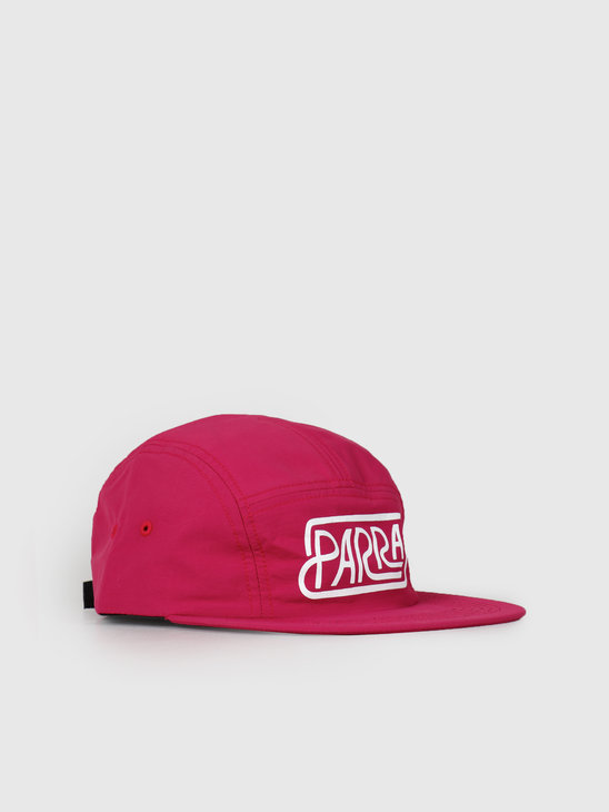 By Parra Volley Hat Labyrinth Logo Purple 42210