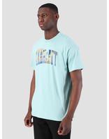 Carhartt WIP Carhartt WIP Short Sleeve Greetings From T-Shirt Soft Aloe 61091000