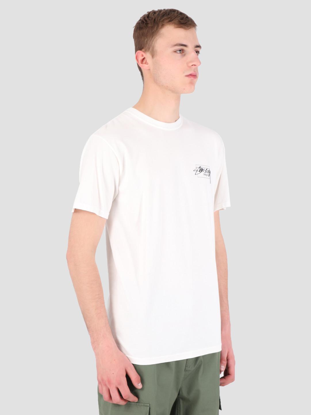 Stussy Stussy Modern Age Pig. Dyed T-Shirt Natural 1002