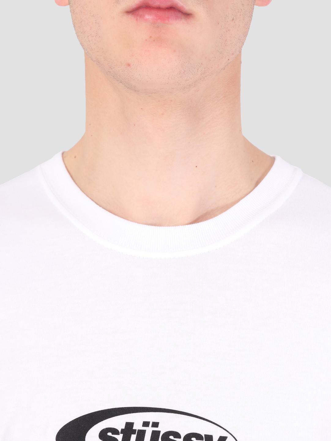 Stussy Stussy Eclipse T-Shirt White 1201