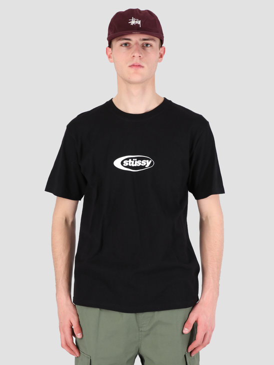 Stussy Eclipse T-Shirt Black 0001