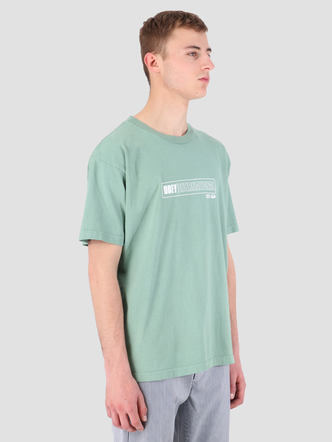 Obey Obey Obey Intl. Cities Classic Box T-Shirt ATL 166911893