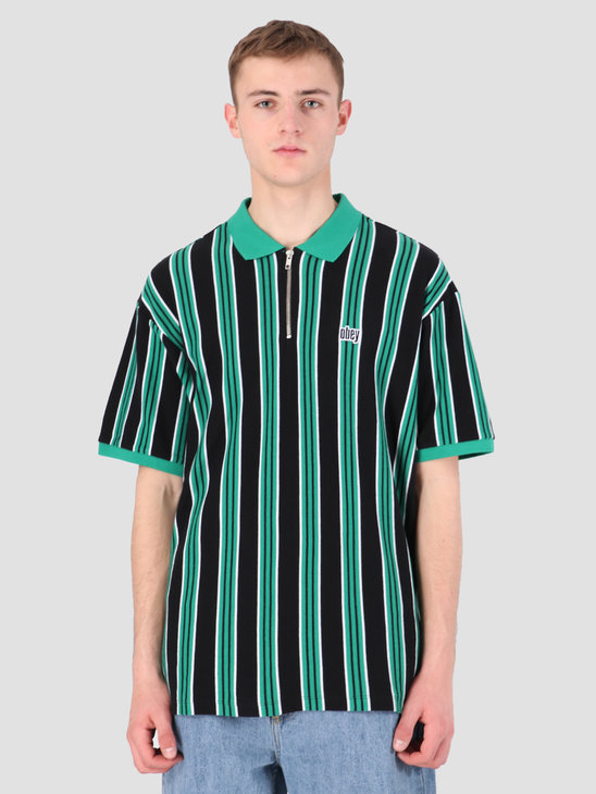 Obey Radar Claic Zip Polo GGM 131090044
