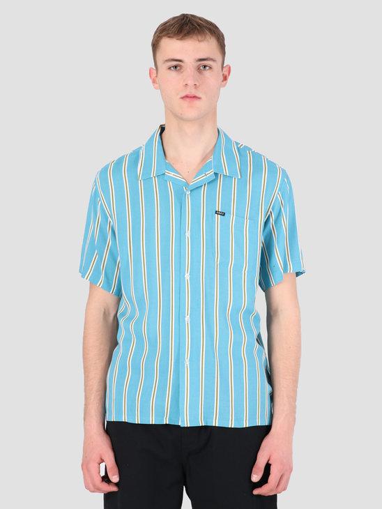 Obey Market Stripe Woven T-Shirt BMU 181210236