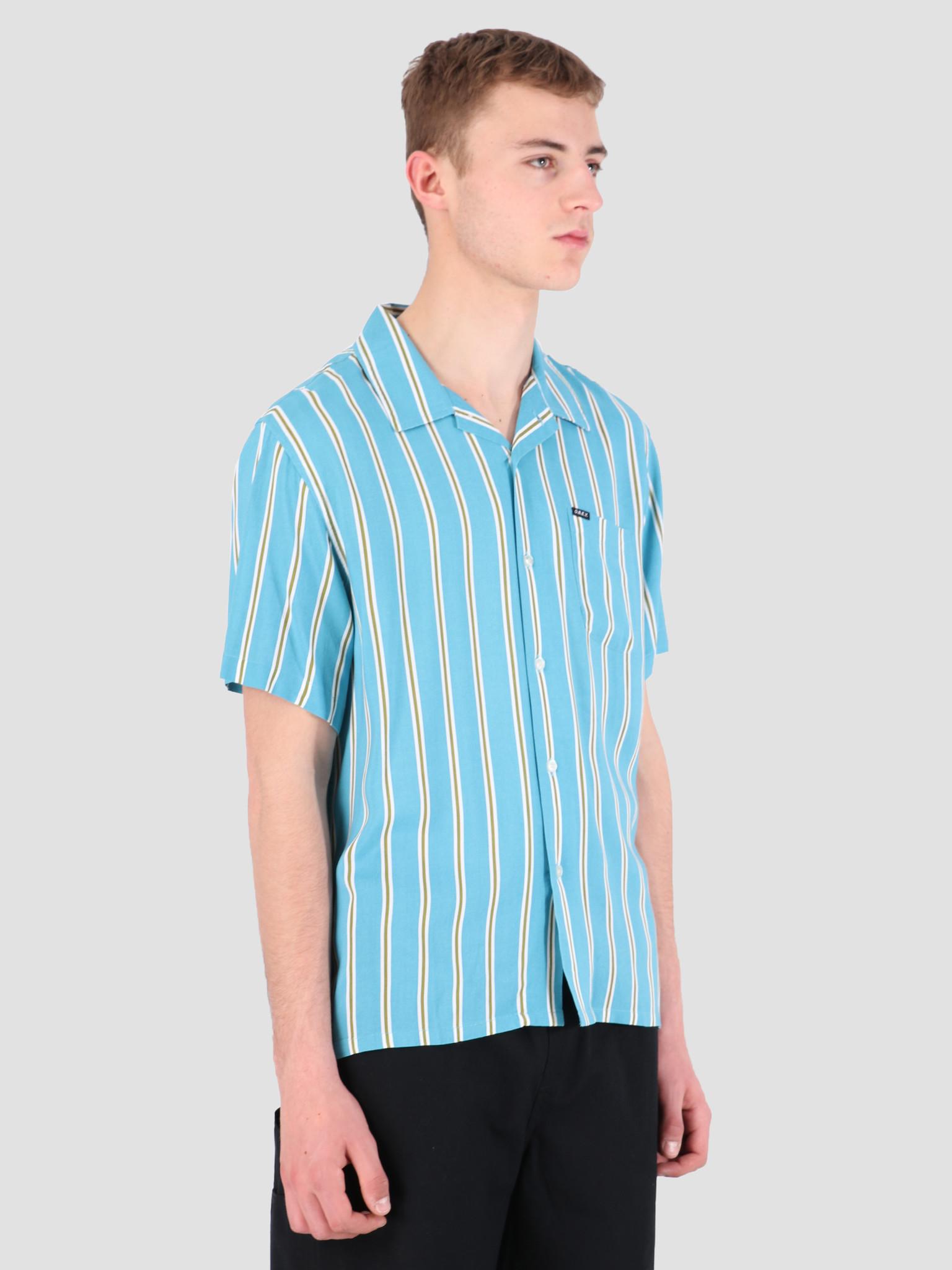 Obey Obey Market Stripe Woven T-Shirt BMU 181210236