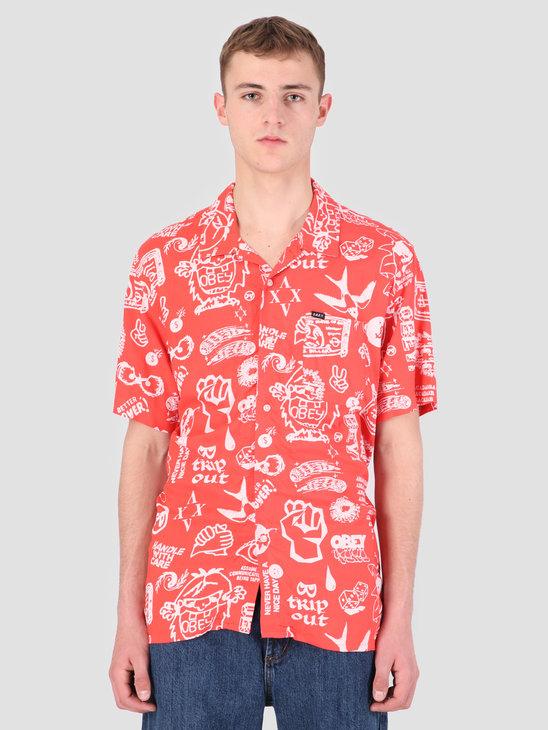 Obey Flash Woven T-Shirt EME 181210240