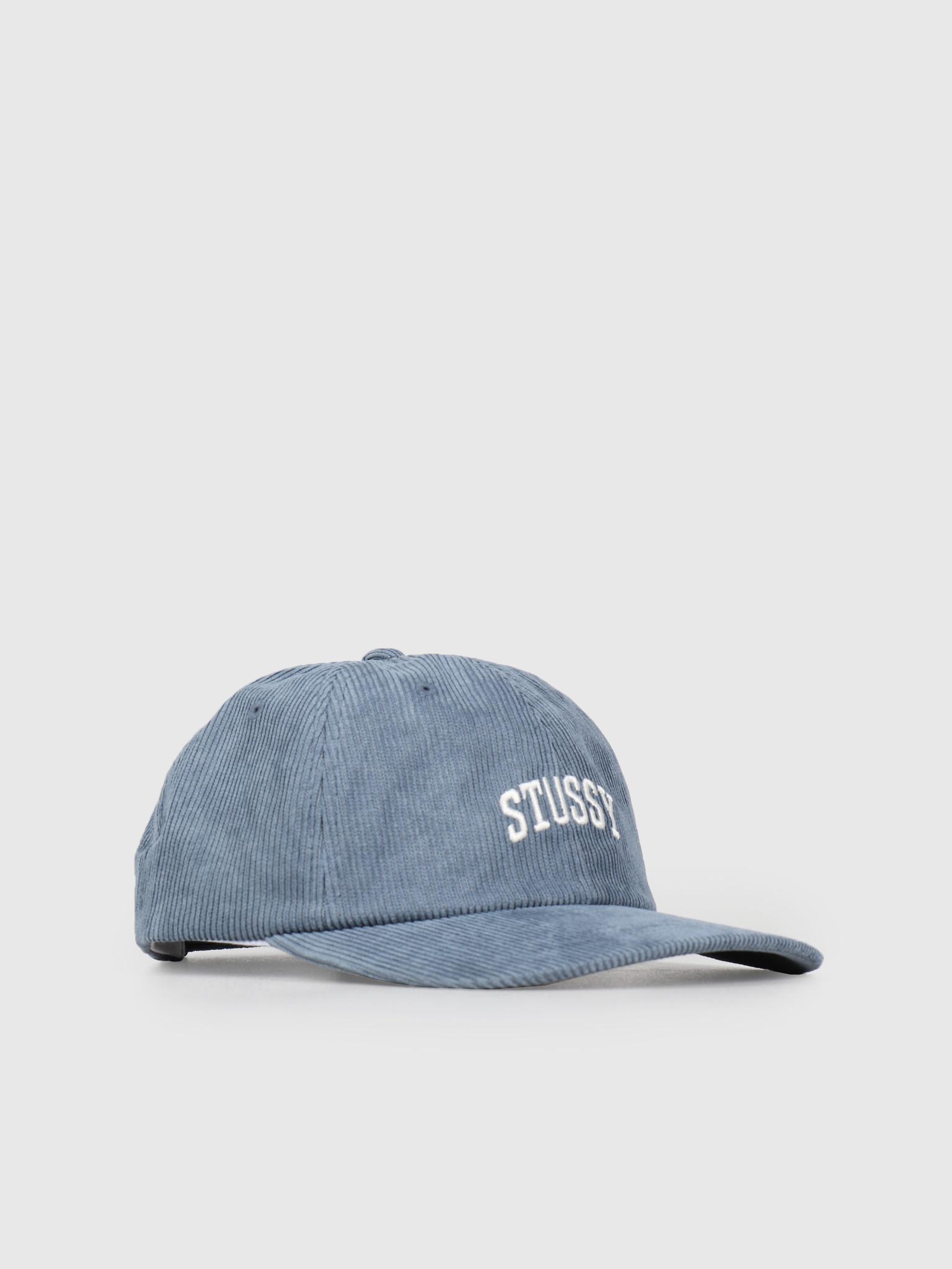 Stussy Stussy Cord Low Pro Cap Blue 0801