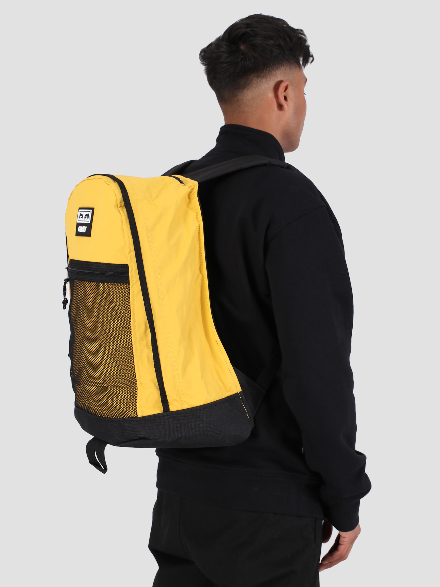 Obey Obey Conditions Day Pack YEL 100010107